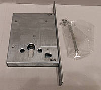 Корпус замка врезного цилиндрового KALE 257 w/b (никель) тех.упаковка, фото 1