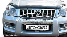 Дефлектор капота для Lexus GX, Toyota Land Cruiser Prado 120