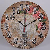 Часы-картина настенные, кварцевые, диаметр 33 см XKC /55