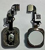 Шлейф кнопки Home + сканер и белая кнопка iPhone 6 100% ОРИГИНАЛ