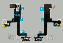 Шлейф кнопка вкл/викл, мікрофон і світлодіод фотоспалахи для iPhone 6 (original)