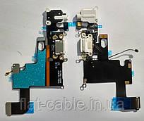Шлейф зарядки/USB с разьёмом Hands-Free для iPhone 6 белый