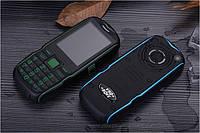 Land Rover T39  Противоударный телефон на 2 sim с суппер батареей и фонариком !!!, фото 1