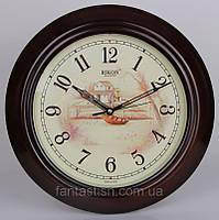 Часы настенные RIKON quartz 8251, кварцевые, диаметр 33 см XKC /05