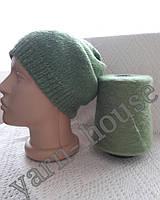 Женская шапка из мохера