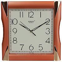 Часы настенные RIKON quartz 6451 copper, кварцевые, размеры 25х25 см