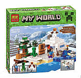 Конструктор Майнкрафт  Minecraft Снежное укрытие 10391, фото 4