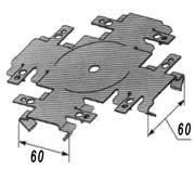 Универсальное соединение для CD профиля (КРАБ) 0,8мм Украина