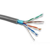 FTP провод комп  белый 4*2*0,48 медь