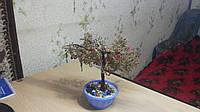 Дерево из бисера ( Рябина )