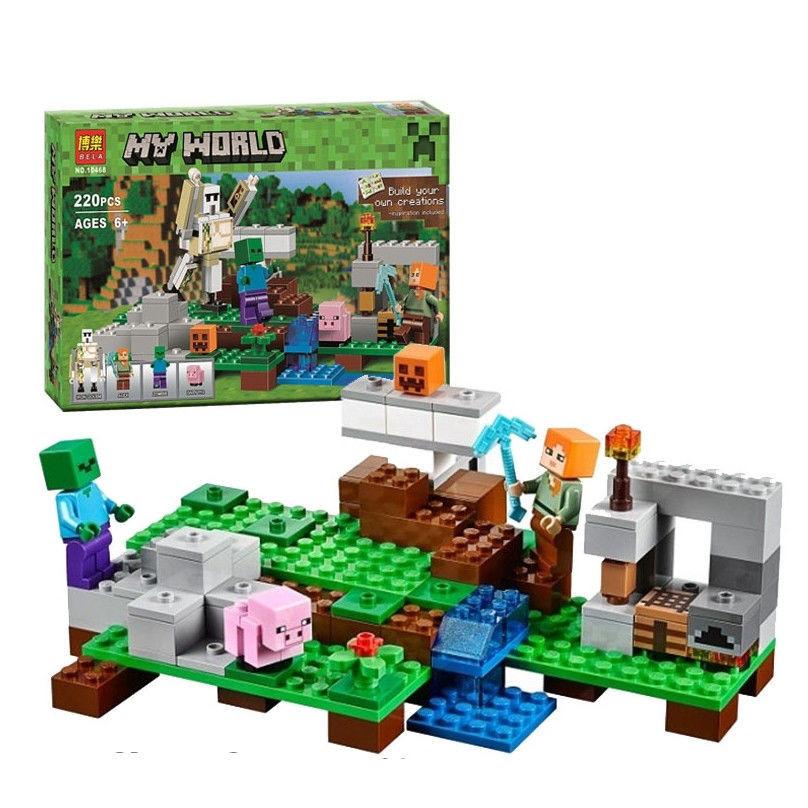 Конструктор Майнкрафт  Minecraft 10468 Bela Железный голем