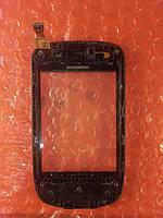 Samsung GT-S5570 сенсор с передней панелью ОРИГИНАЛ Б/У