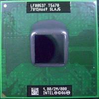 Процессор INTEL CORE 2 DUO T5670 SLAJ5 1,8Ггц / 800МГц