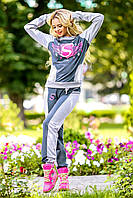 Спортивный костюм женский в 3х цветах 0973-74-75
