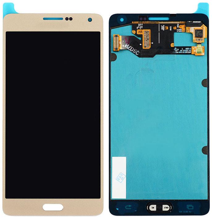 Модуль Samsung Galaxy A7 SM-A700H gold (rev.0.1) (оригинал) дисплей эк