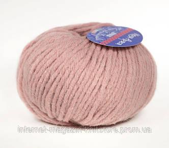 Пряжа Yarna Mega Alpaca пыльная роза