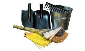 Лопаты, грабли, ведра и прочее