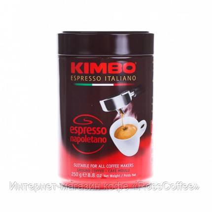 Кофе молотый Kimbo Espresso Napoletano 250 г в банке, фото 2