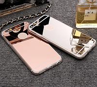 Зеркальный чехол для IPhone - модная уникальная защита телефона!