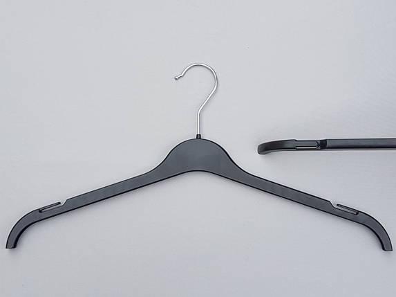 Плечики ВТ45  черного цвета , длина 45 см, фото 2