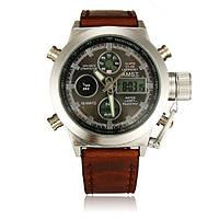 Мужские армейские часы AMST 3003 Темные Светлый