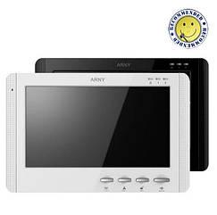 Видеодомофон ARNY AVD-709 черный/белый