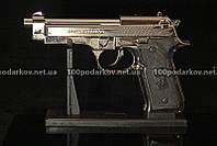 Зажигалка пистолет Беретта M-9 большой, фото 1