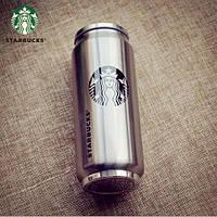 Термокружка в виде банки Старбакс Starbucks с трубочкой 450 мл.