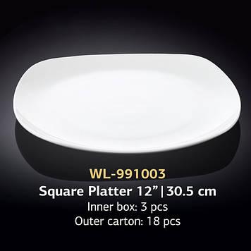 Блюдо квадратне Товарwilmax WL-991003 30,5*30,,5см