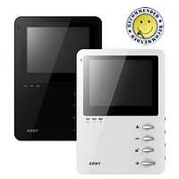 Видеодомофон ARNY AVD-410M черный/белый