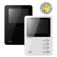 Видеодомофон ARNY AVD-410 черный/белый