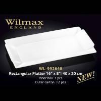 Блюдо прямокутне Товарwilmax WL-992648 40*20 см