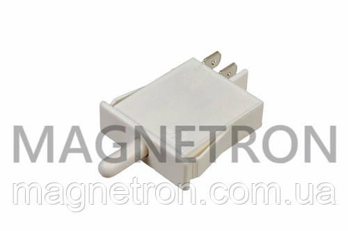 Выключатель света кнопочный (одинарный) для холодильников Indesit, Ariston C00075585