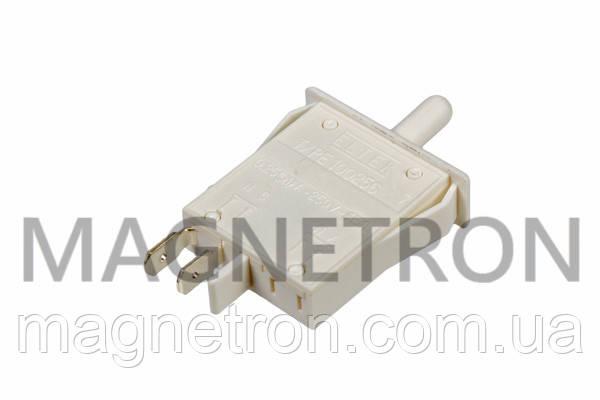 Выключатель света кнопочный (одинарный) для холодильников Indesit, Ariston C00075585, фото 2