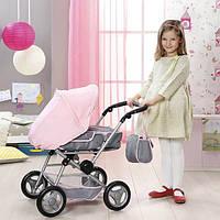 Коляска для куклы Baby Born -делюкс 3 в 1 складная, с сумкой и съемной люлькой 821343