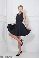 Жіноче чорне плаття з відкритою спиною Geremy