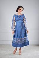Стильна сукня вишита, фото 1