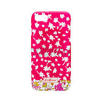 Накладка Silicon Case Cath Kidston iPhone 5/5S Pink Фосфорная