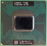 Процессор Intel Core 2 Duo T7200 SL9SF 2Ггц / 667МГц