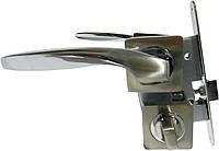 Дверные ручки комплект Germanium SN/CP 70