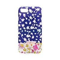Накладка Silicon Case Cath Kidston iPhone 5/5S Purple Фосфорная