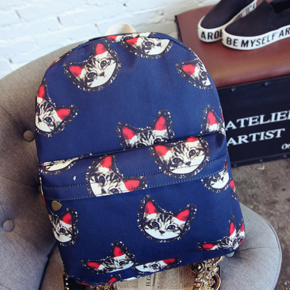 Молодежный рюкзак с котами