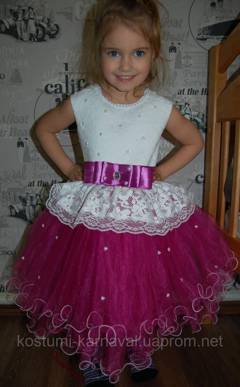e44bb3365b99620 Платье пышное для девочки ,нарядное платье - праздничное 3- 5 лет -  Капризулька -
