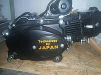 Мотор для мопеда Альфа 110 с механической коробкой