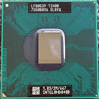 Процессор INTEL CORE DUO T2400 SL8VQ 1,83Ггц/ 667Мгц