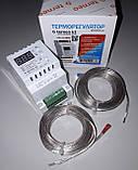 Двоканальний терморегулятор для теплої підлоги Terneo K2, фото 4