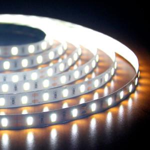 Светодиодная лента супер яркая 2400ЛМ B-LED 5630-60 IP20, негерметичная, холодный белый