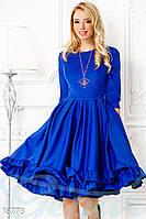Красивое пышное платье S M L