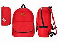 Красивый рюкзак красный