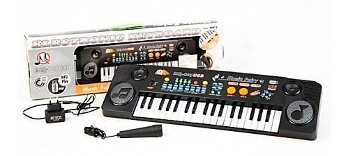 Орган MQ 803USB, 37 клавиш, USB-порт, 22 мелодии, 8 ритмов, голоса животных, микрофон, отличный подарок детям, фото 2